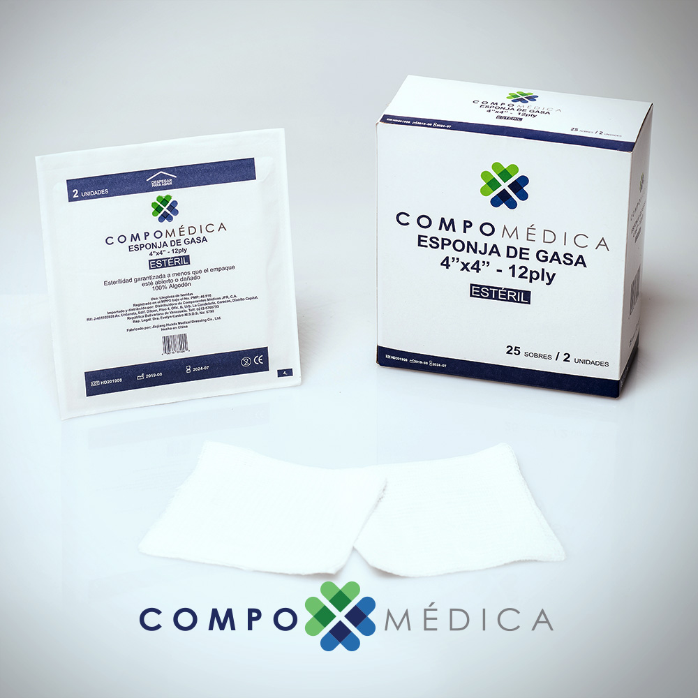 Esponja de Gasa - Insumos Médicos